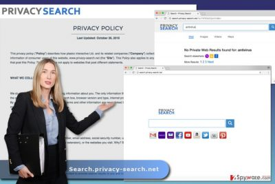 The image of Search.privacy-search.net virus