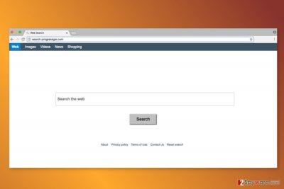 The screenshot of Search.progressgar.com