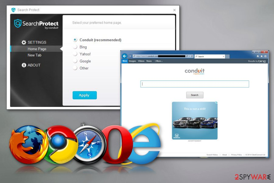 Search Protect browser hijacker
