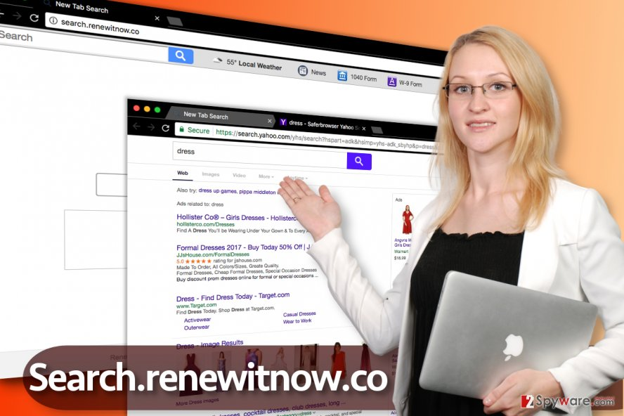 Search.renewitnow.co redirect virus
