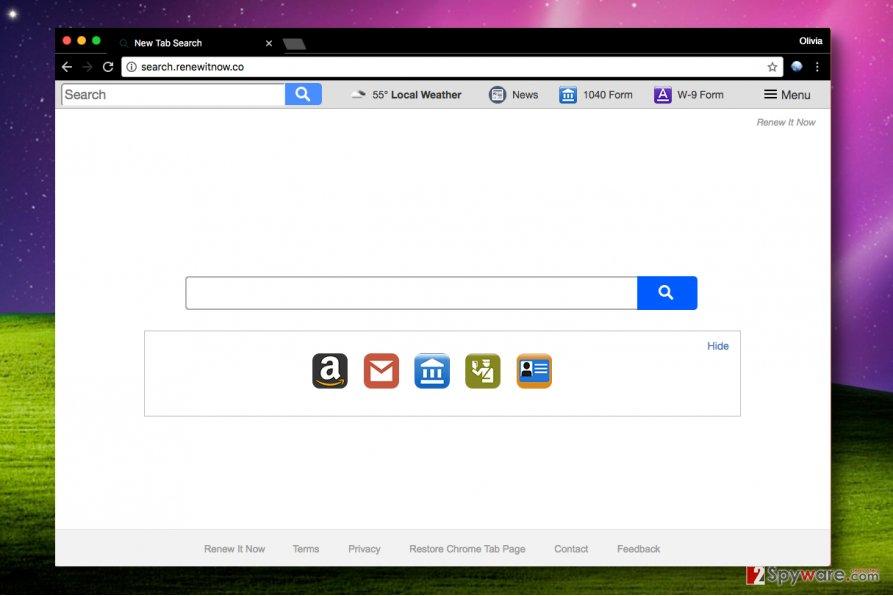 Search.renewitnow.co virus