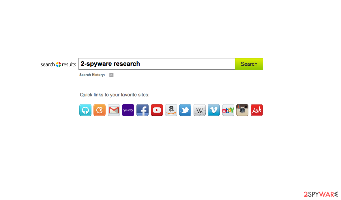 the picture of Search Results Toolbar