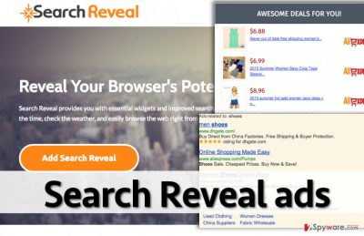 Examples of ads by Search Reveal