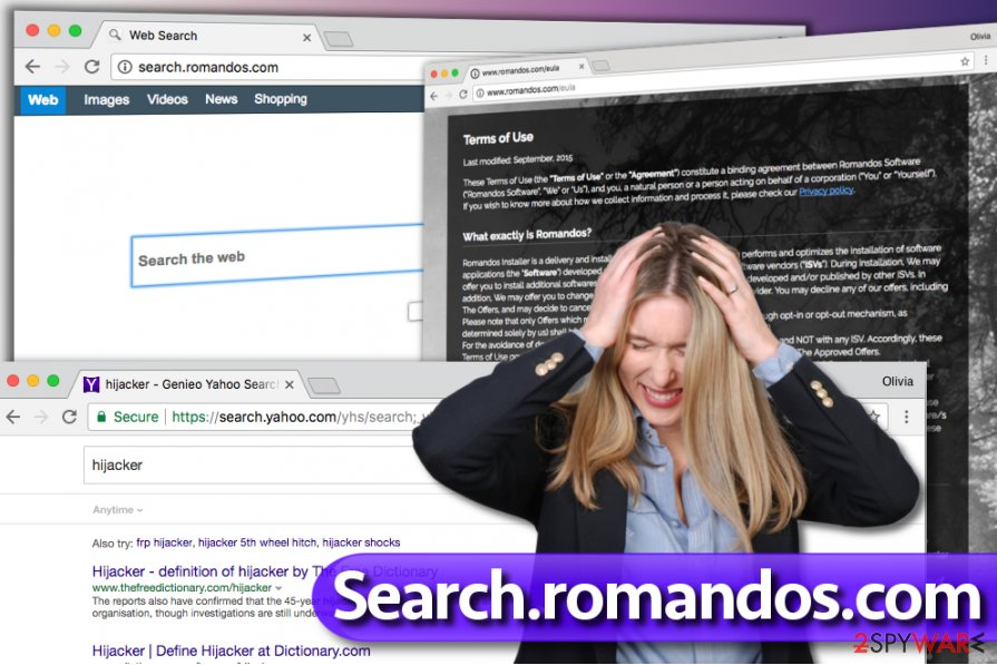 Search.romandos.com virus