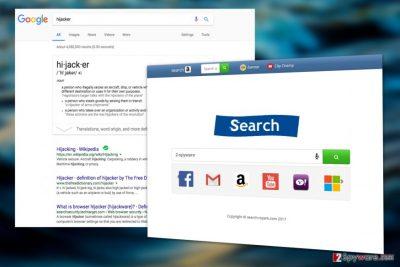 Search.rspark.com virus
