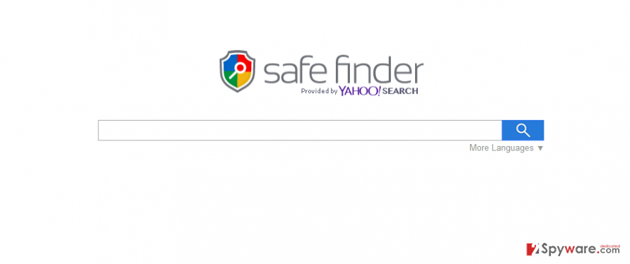 Search.SafeFinder.com screenshot