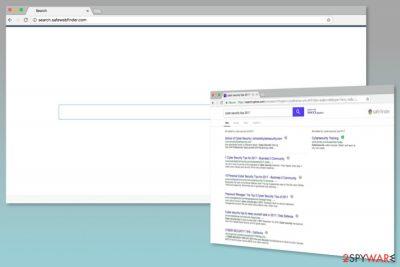 Screenshot of Search.safewebfinder.com