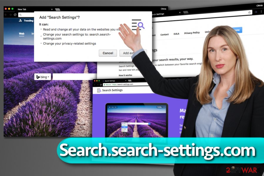 Search.search-settings.com redirect virus