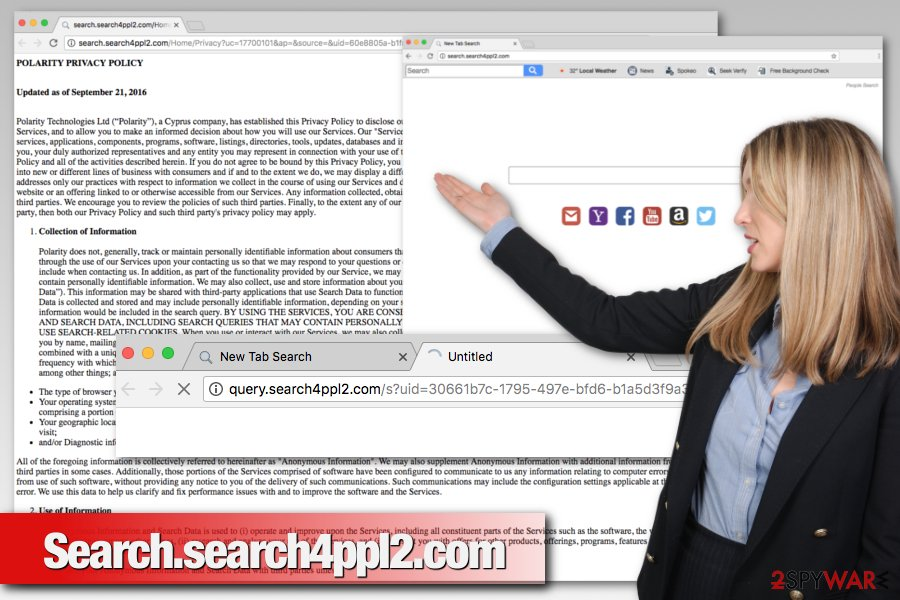 Search.search4ppl2.com virus changes search engine