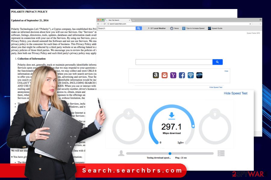 The picture of Search.searchbrs.com virus