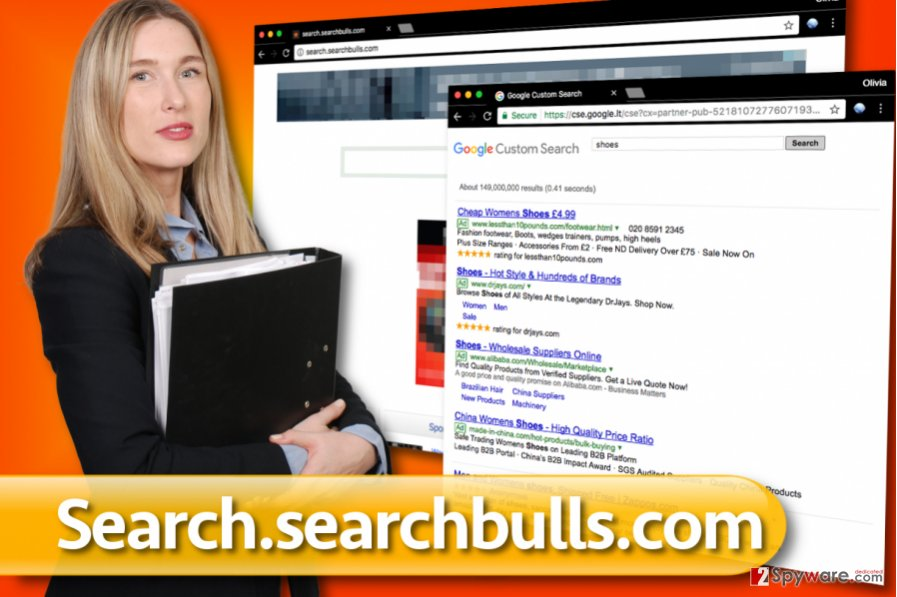 Search.searchbulls.com redirect virus