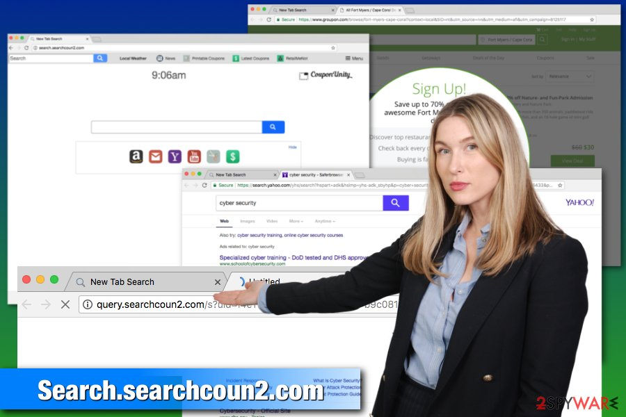 Search.searchcoun2.com browser hijacker