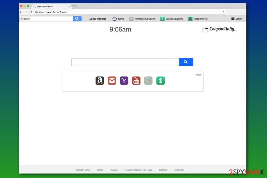 Search.searchcoun2.com search engine