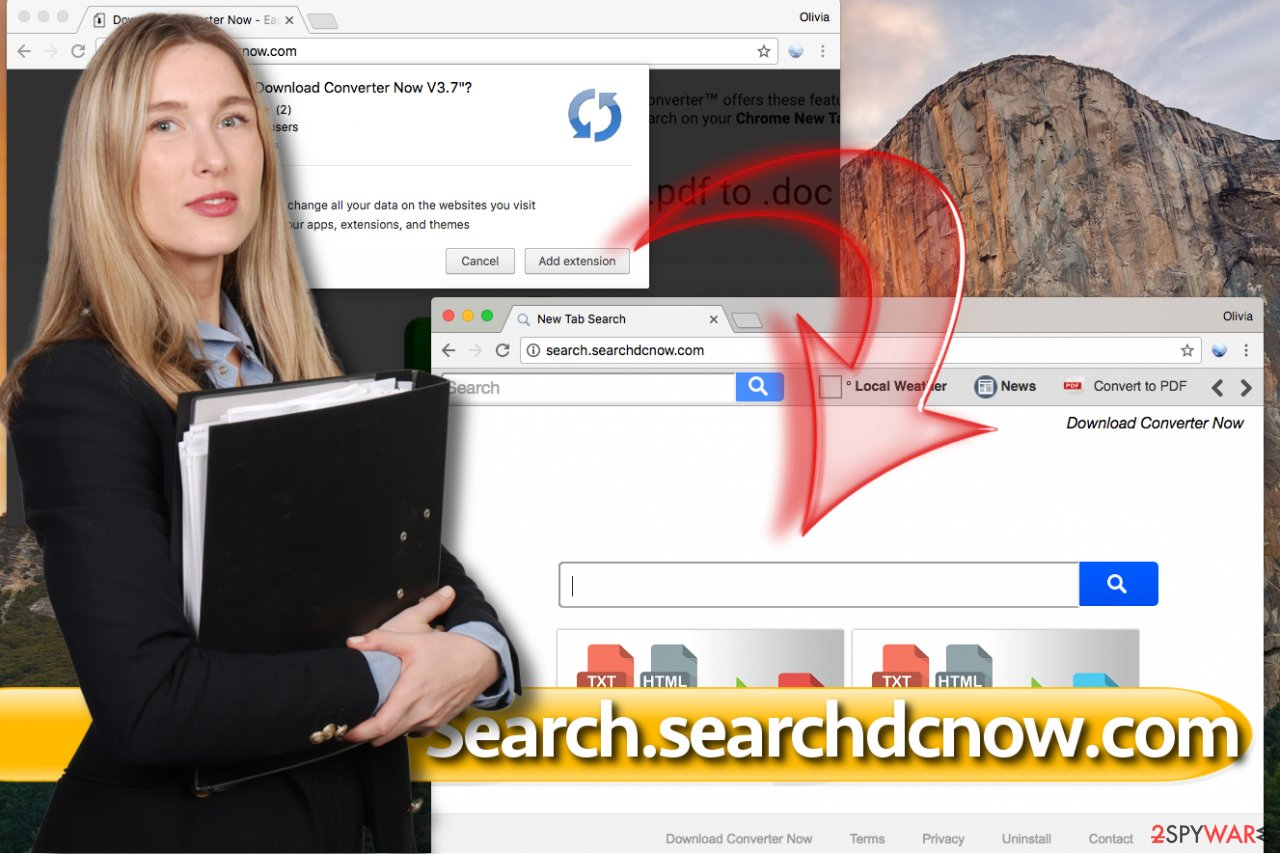 Search.searchdcnow.com virus