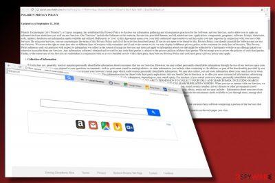 Screenshot of Search.searchddn.com virus