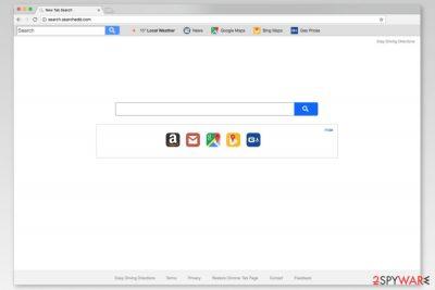 Screenshot of Search.searchedd.com