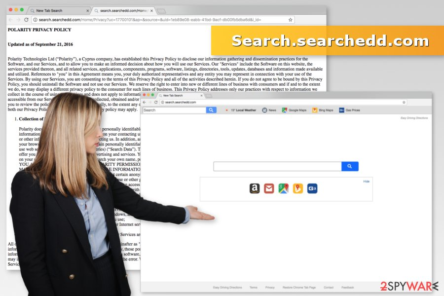 Image of Search.searchedd.com virus