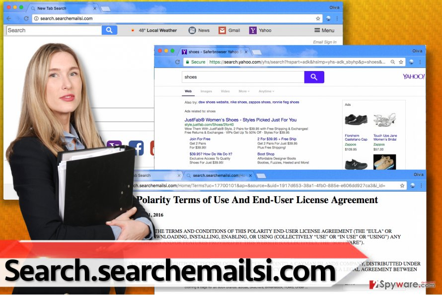 Picture of Search.searchemailsi.com search engine