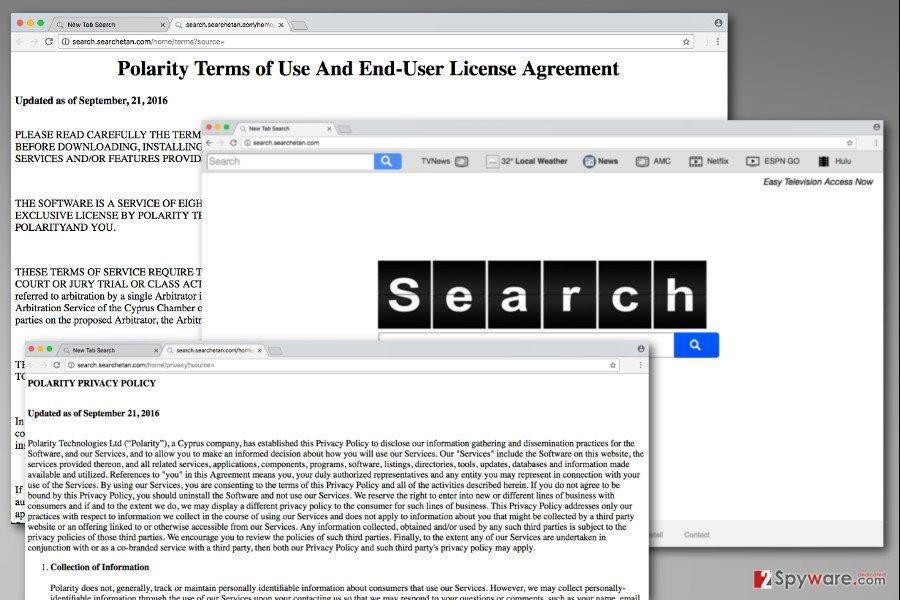 The picture of Search.searchetan.com virus