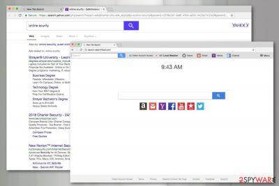 Search.searchfaa2.com screenshot