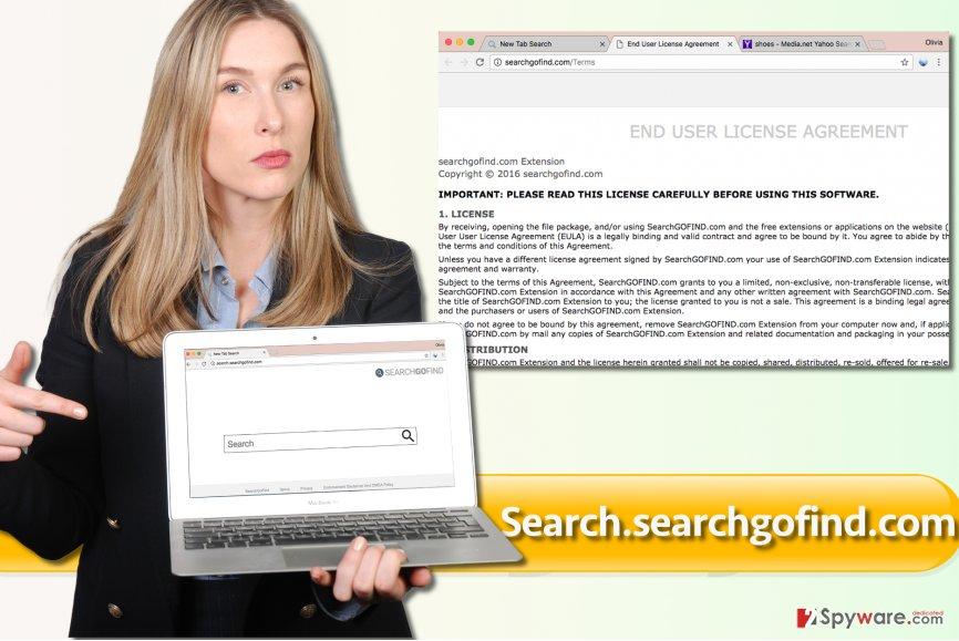 Search.searchgofind.com browser hijacker