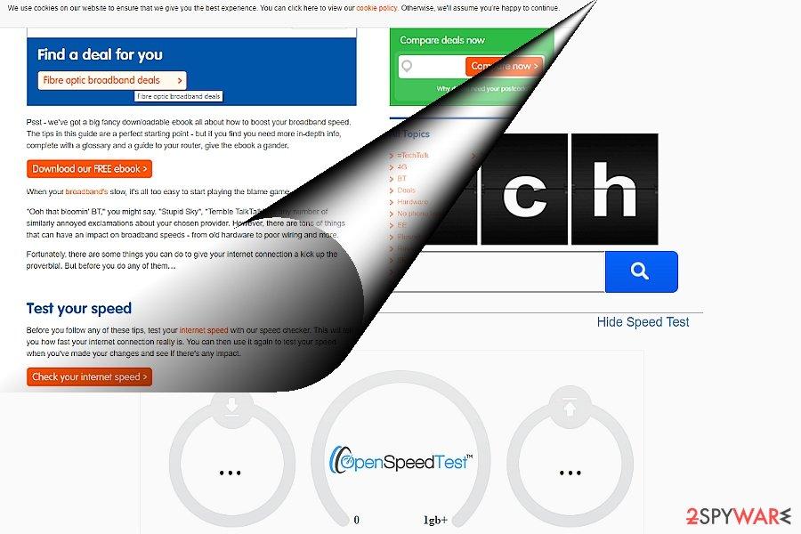 The screenshot of search.searchgstt.com