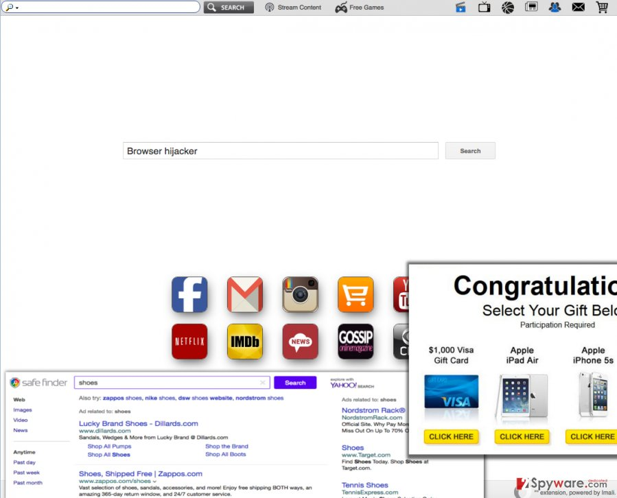 Search.searchinvietnam.com browser hijacker changes homepage address