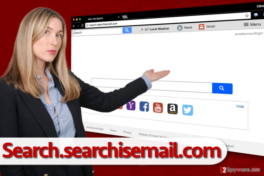 Search.searchisemail.com browser hijack