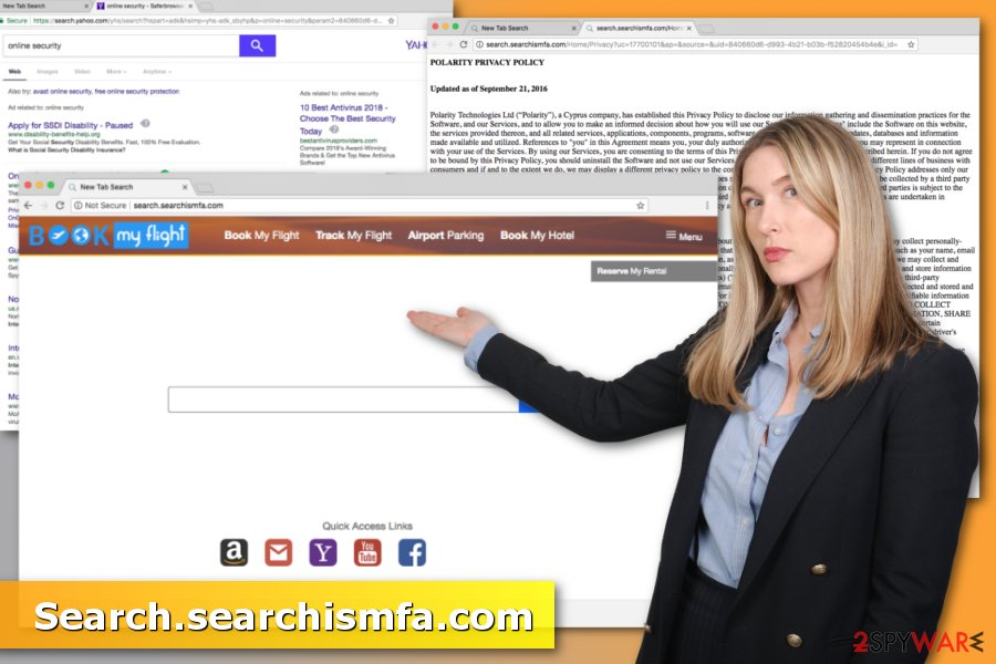Picture of Search.searchismfa.com virus