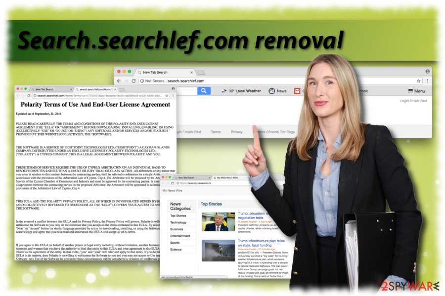Search.searchlef.com elimination