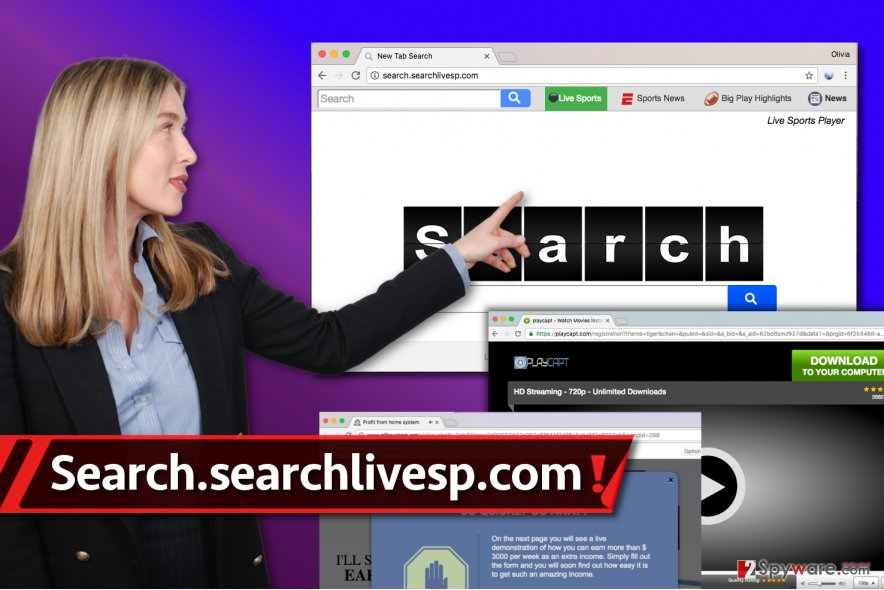 Search.searchlivesp.com virus