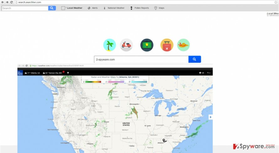 The picture disclosing search.searchlwr.com