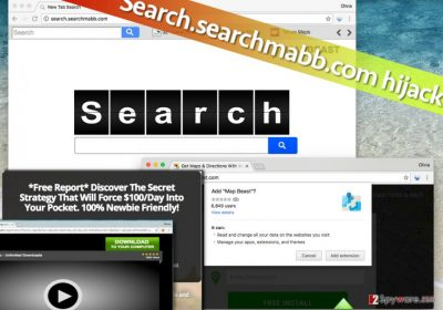 Picture showing Search.searchmabb.com infection