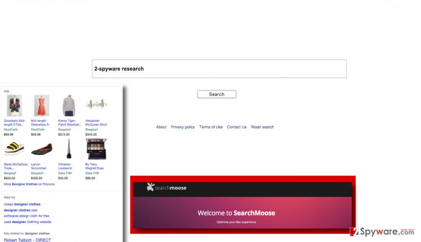 Search.searchmoose.com virus
