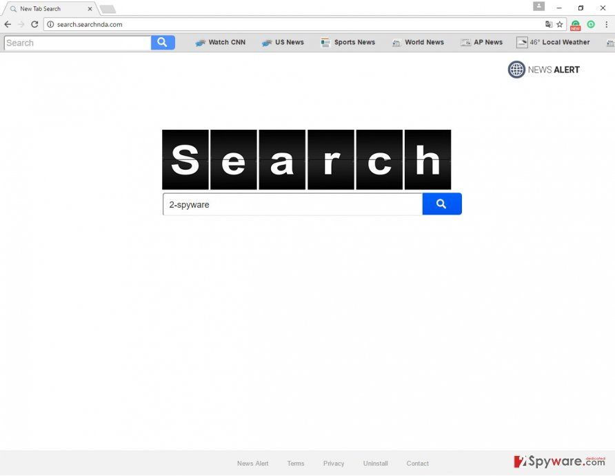 The picture of Search.searchnda.com search engine