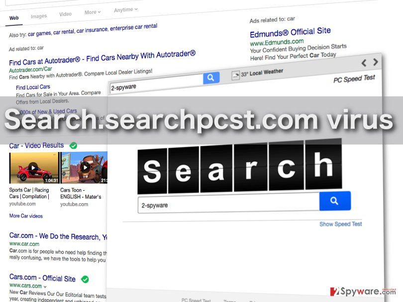 Picture of the Search.searchpcst.com virus