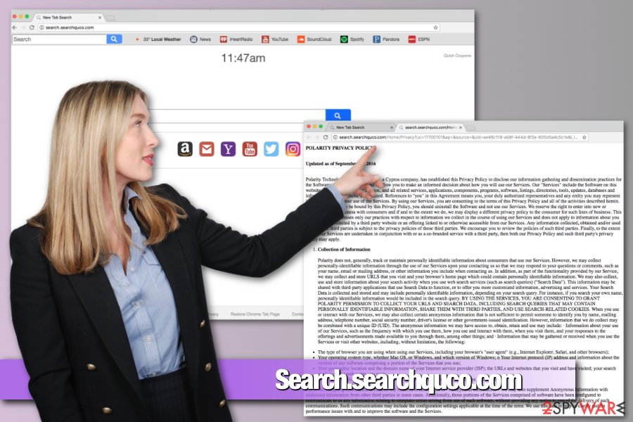 how to remove yahoo search engine