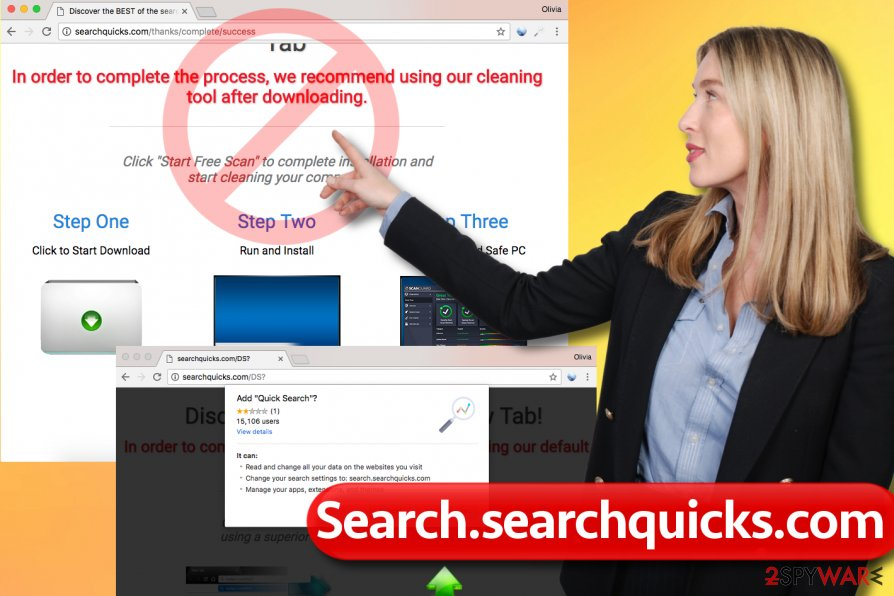Search.searchquicks.com redirect virus