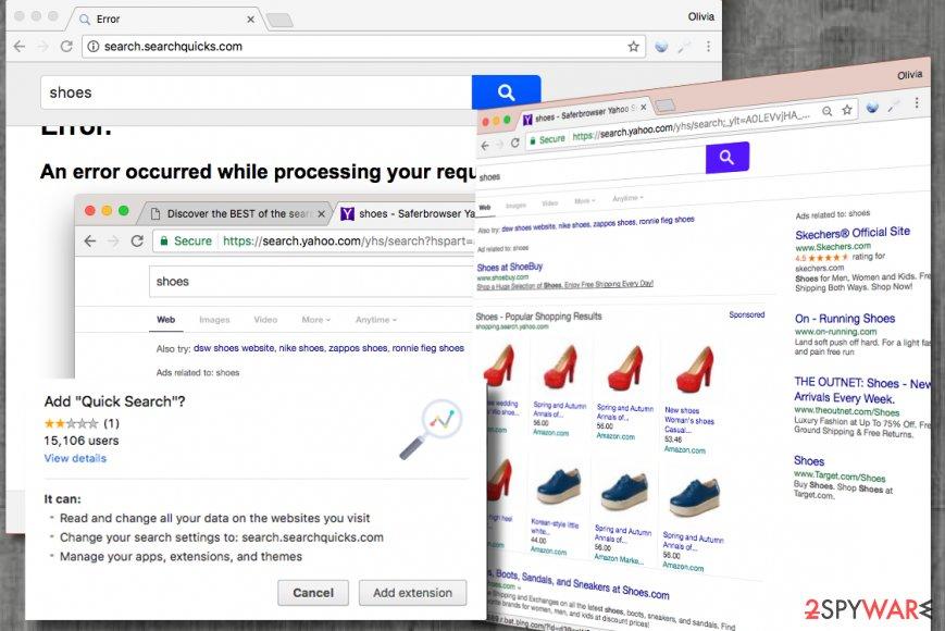 Search.searchquicks.com virus