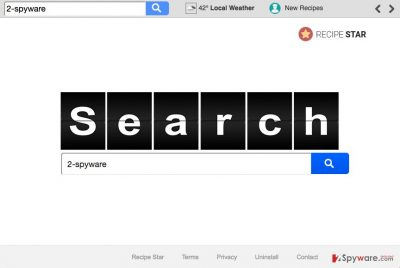 Image of the Search.searchrs.com hijacker virus
