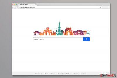 Search.searchsresults.com search engine screenshot