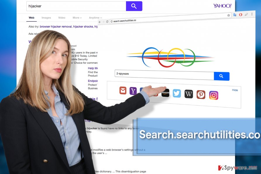 Image of Search.searchutilities.co illustrated