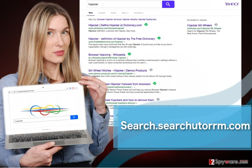Image of the Search.searchutorrm.com virus