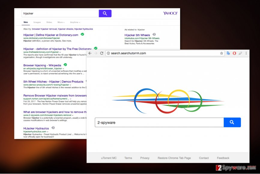 Search.searchutorrm.com virus