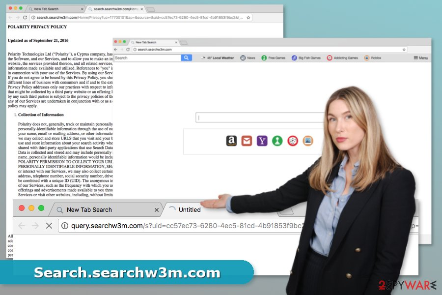 Picture of Search.searchw3m.com virus
