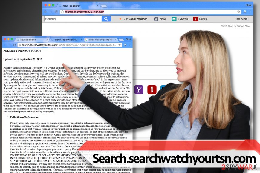 Search.searchwatchyourtsn.com hijack