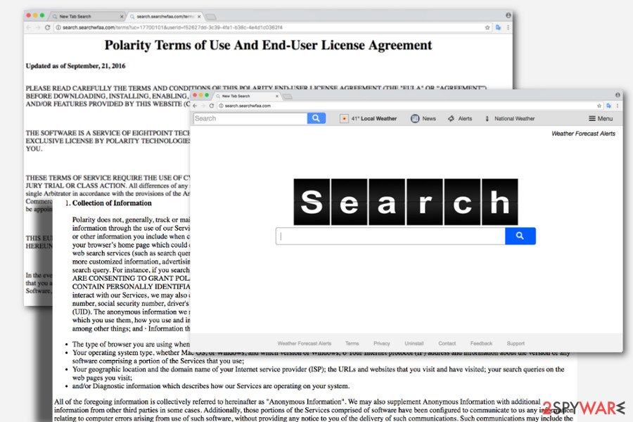 The image of Search.searchwfaa.com virus