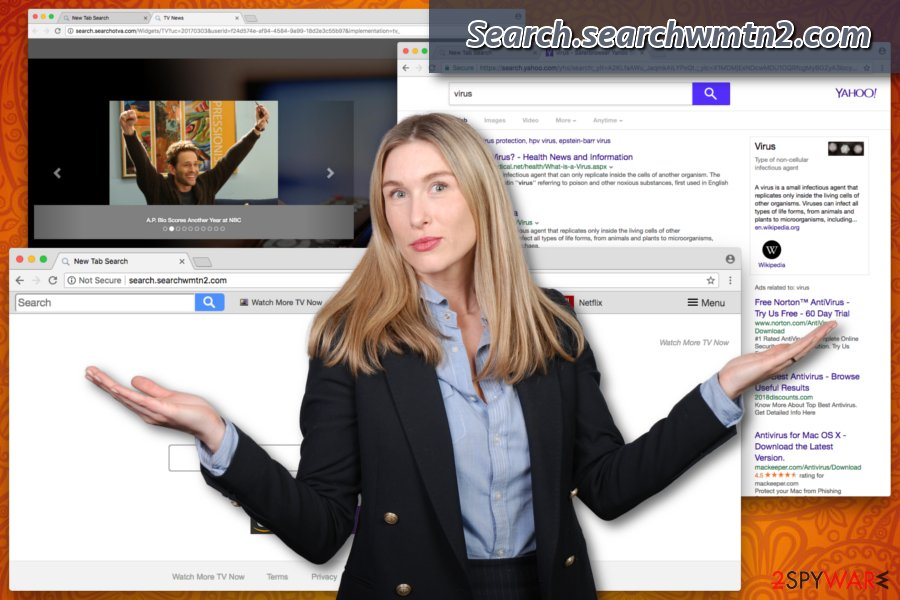 Search.searchwmtn2.com browser hijacker