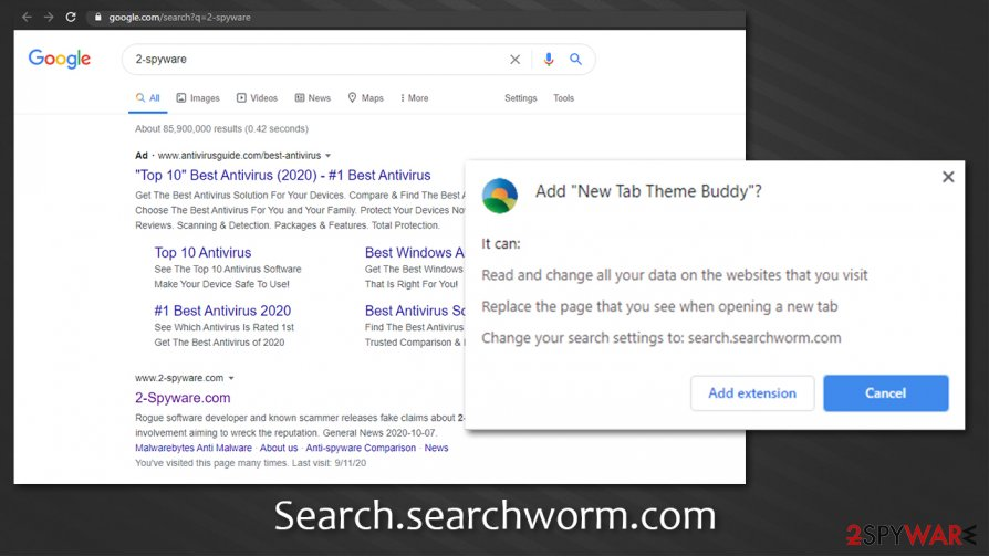 Search.searchworm.com search results