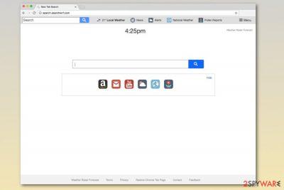 Search.searchwrf.com homepage
